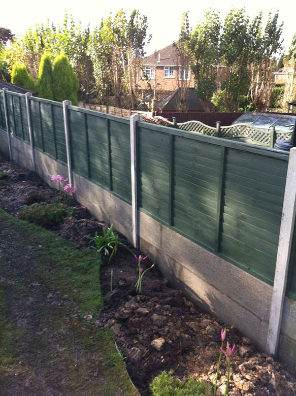 Concrete | Littlewood Fencing | South East