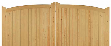 Curved Top Driveway Gate Thumbnail