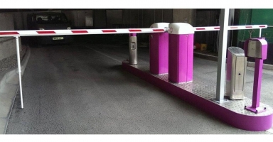 Automatic rising arm barrier Thumbnail